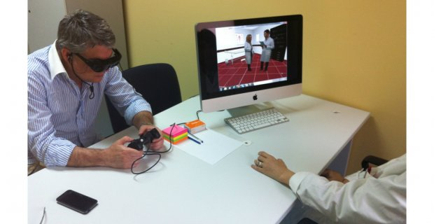 Of the Interreality trial